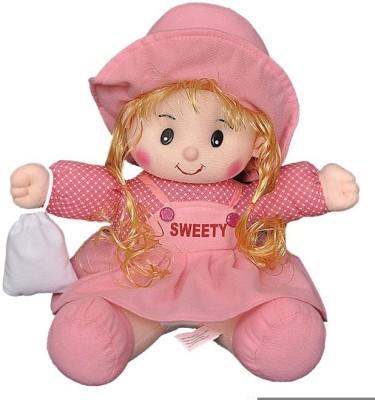 FunnyLand Sweetie Doll Pink 30cm Pink FunnyLand Dolls   Doll Houses