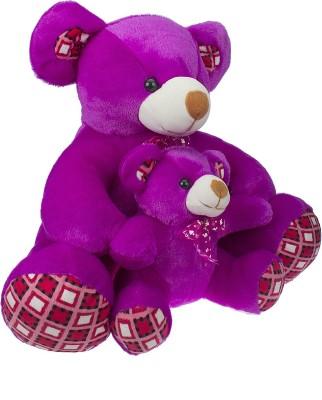 SANA TOYS MOTHER WIYH CUTE BABY   36 PURPLE SANA TOYS Soft Toys