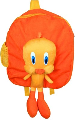 MGPLifestyle MGP Creation Multicolor Full Character Tweety plush Toy Bag  14  School Bag Multicolor, 14 inch MGPLifestyle School Bags