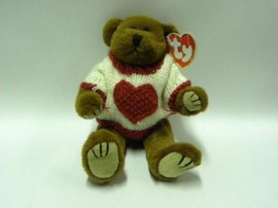Attic Treasures Collection 1 X Ty Attic Treasure Casanova The Bear Brown Attic Treasures Collection Soft Toys