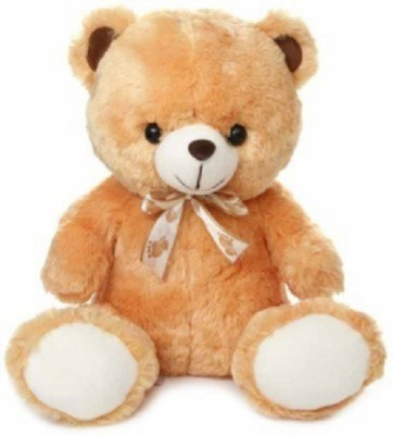 Cuddles collections Lovely looking cute Brown teady Bear   40 cm Brown Cuddles collections Soft Toys