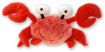 Puzzled Super Soft Red Crab Plush, 12\ Multicolor Puzzled Soft Toys