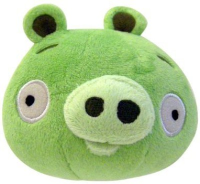 Angry Birds Plush 8Inch Piglet With Sound(Green)