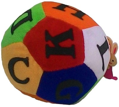 Galaxy World Multicolour Soft Ball   12 cm Multicolor Galaxy World Soft Toys
