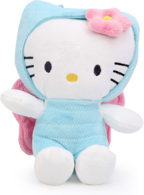 Hello Kitty Bee In Blue Costume  - 25 cm(Blue, White)