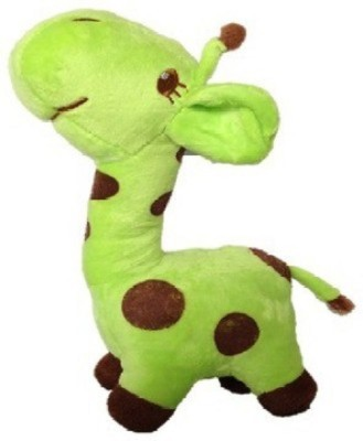 Cuddles collections Baby Giraffe   22 cm Green Cuddles collections Soft Toys
