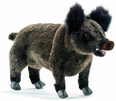 Hansa Wild Boar Mama29Cm/12In   8 inch Black Hansa Soft Toys