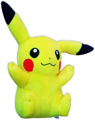 POKEMON Pikachu Plush   17 inch Yellow POKEMON Soft Toys