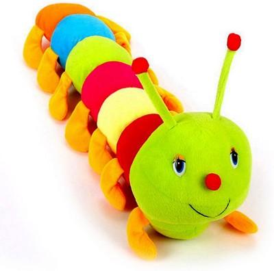 Ewi Smile Adorable beautiful colorful Caterpillar soft toys   55 cm Multicolor Ewi Soft Toys