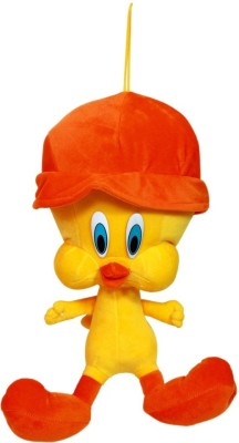 MGPLifestyle Deluxe Yellow Plush Tweety with Cap 30Cm    30 cm Yellow MGPLifestyle Soft Toys