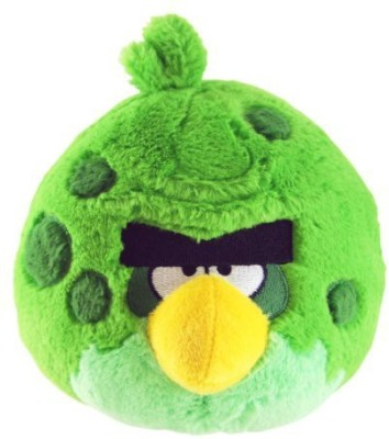 Angry Birds Space 8-Inch Green Bird with Sound  - 25 inch(Multicolor)