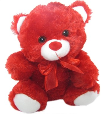Tickles Cute Red Teddy   8 inch Red Tickles Soft Toys