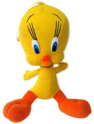 Tokenz Tweety a Cute Bird : Soft Animals   12 inch Yellow Tokenz Soft Toys