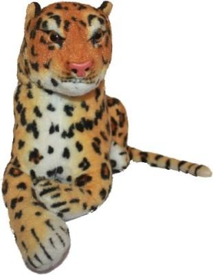 Gauba Traders Soft Toy Leopard   40 cm Multicolor Gauba Traders Soft Toys