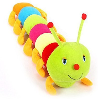 MGPLifestyle Cute Colorful Caterpillar Soft Toy 55 cm   7 cm Multicolor MGPLifestyle Soft Toys
