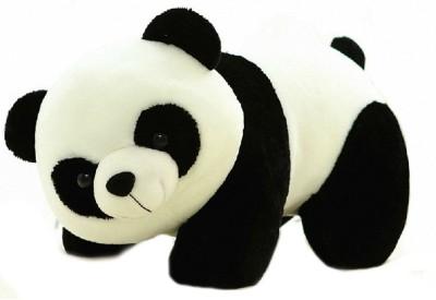 Lata Panda Cute Soft Medium   40 cm Black, White Lata Soft Toys