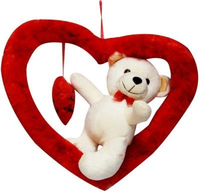 DEALbindaas Romy Teddy Valentine Stuff Soft Toy   36 cm Cream DEALbindaas Soft Toys