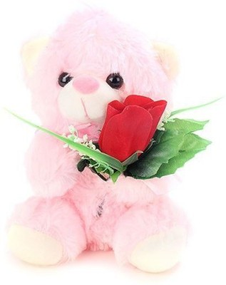 Tickles Best Friend Teddy   7 inch Pink Tickles Soft Toys