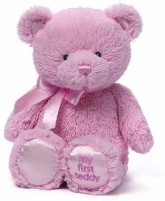 GUND My First Teddy Bear Ba Animal10 Inches   26 inch Pink GUND Soft Toys