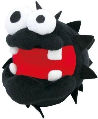 Sanei Super Mario Plush Series Fuzzy/Chorobon Plush Doll5\ Black Sanei Soft Toys