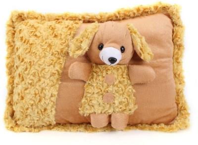 Tickles Cute Bear Cushion   35 cm Brown Tickles Soft Toys