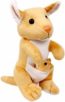 Lehar Toys Mr.Kangaroo   14 cm Brown Lehar Toys Soft Toys