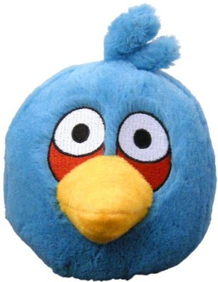 Angry Birds Plush 5Inch Blue Bird With Sound(Blue)