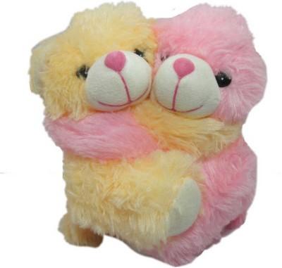 Advance Hotline Couple bear   13 cm Yellow Advance Hotline Soft Toys