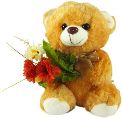Tickles Bouquet Teddy   7 inch Brown1 Tickles Soft Toys