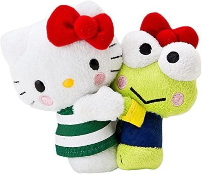 Hello Kitty X Kerokeroike No Hikkoshi Boobs Pi 40Th Anniversary Plush(Green)
