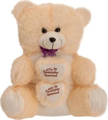 kashish trading company KTC Beige Fur Teddy Bear   14 inch Beige kashish trading company Soft Toys