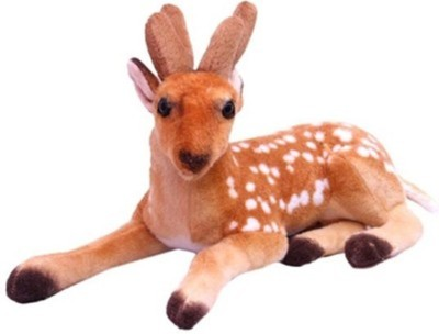 PIST Soft Toys brown deer soft toy   32 cm Brown PIST Soft Toys