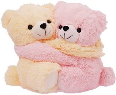 MGPLifestyle MGP Creation Cuddly Pink and Cream Couple Teddies   Small   20 cm Pink MGPLifestyle Soft Toys