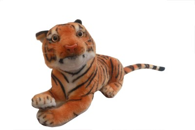 One Up Tiger Soft Toy  - 32 cm(Brown)