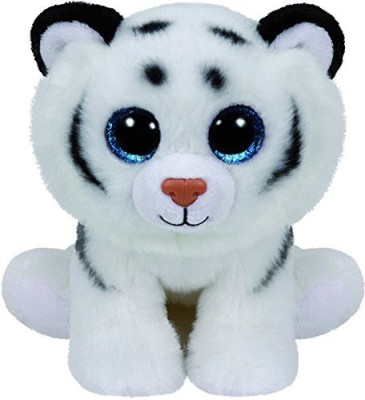 TY Classic Tundra White Tiger Medium White TY Soft Toys