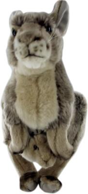 Hamleys Katie Kangaroo Soft Toy   11.8 inch Brown Hamleys Soft Toys