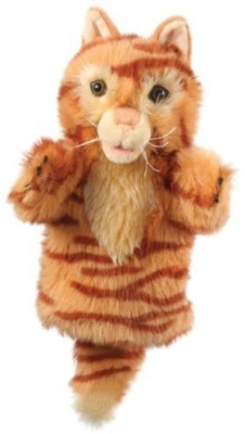 The Puppet Company Carpets Collection'S Ginger Cat   13.77 inch Brown The Puppet Company Soft Toys
