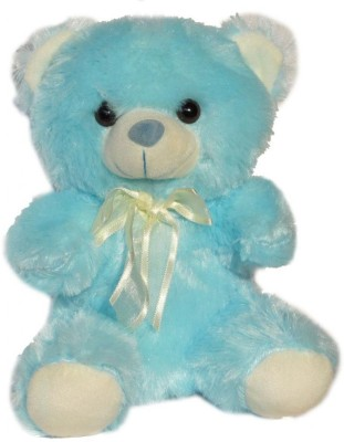 Tickles Teddy   8 inch Blue Tickles Soft Toys