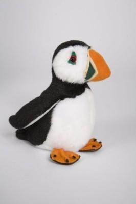 Douglas Cuddle Toys Obi Puffin 6\ White Douglas Cuddle Toys Soft Toys