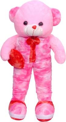 Ktkashish Toys kashish sweet pink clth boy withred hear t 27 inch   27 inch pink Ktkashish Toys Soft Toys