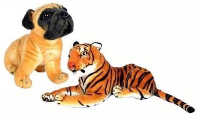 PIST Soft Toys Tiger   PG   32 cm Multicolor PIST Soft Toys