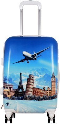 Novelty Blue Trolly 28 Check in Luggage   28 inch