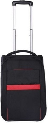HANDCUFFS 20 Inch Cabin Luggage - 20 inch(Black) at flipkart