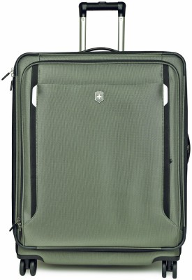 Victorinox Werks Traveler 5.0 Dual Caster Global Carry_on Expandable Cabin Luggage   20 inch Victorinox Suitcases