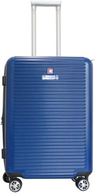 Swiss Military PRIMUS SERIES POLYCARBONATE MEDIUM SIZE 24inch HARD TOP LUGGAGE Expandable Check in Luggage   24 inch Swiss Military Suitcases
