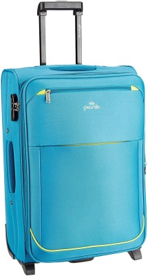 Pronto Moscow Expandable Cabin Luggage   20 inch Blue