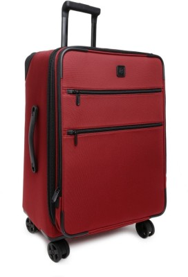 Victorinox 20 Inch Dual-Caster Expandable  Cabin Luggage - 20 inch(Red) at flipkart