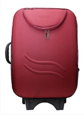 Inte Enterprises style Expandable  Cabin Luggage   22 inch Red