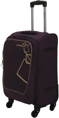 0e377ed9e68 Buy Safari Quadra 55 4WH Cabin Luggage - 22 inch(Purple) on Flipkart ...