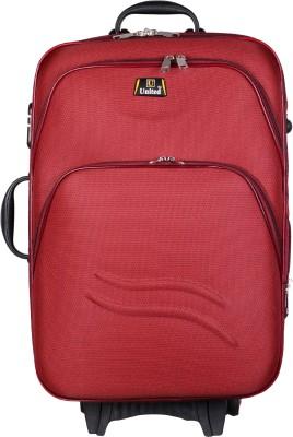 U United Double Shell Sea Wave Expandable Cabin Luggage   20 inch U United Suitcases